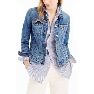 J. Crew Women's Classic Denim Jean Jacket